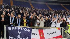 Tottenham fans were attacked in a Lyon pub