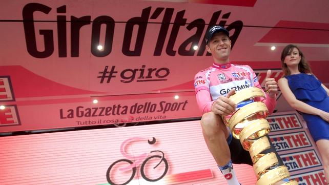 Ryder Hesjedal won the 2012 Giro D'Italia