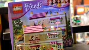 Lego Friends - widely seen to be targeted at girls - was one of the firm's best selling lines last year