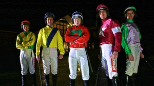 Andrew Lynch, Robert Power, Nina Carberry, Davy Russell and Andrew McNamara