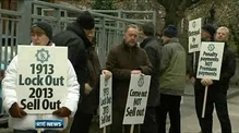 GRA members in Croke Park talks protest