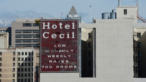 The body of a Canadian woman was later discovered at the bottom of one of four cisterns on the roof of Hotel Cecil