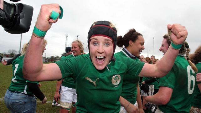 Fiona Coghlan starts at loosehead prop for Ireland at Lasswade RFC