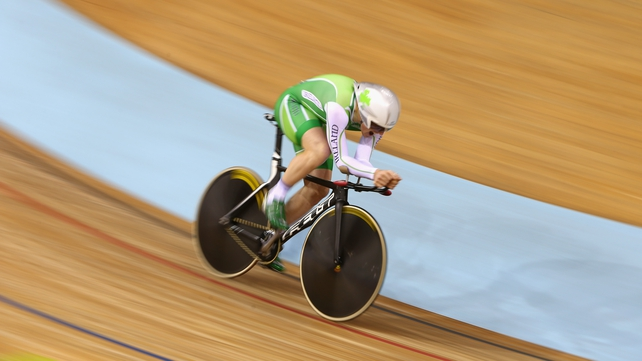 Martyn Irvine has won gold and silver at the Track Cycling World Championships