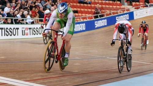 Martyn Irvine became the first man to win a track cycling medal for Ireland in 117 years