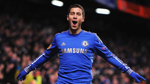 Eden Hazard's late equaliser put Chelsea in the last-16 of the Europa League