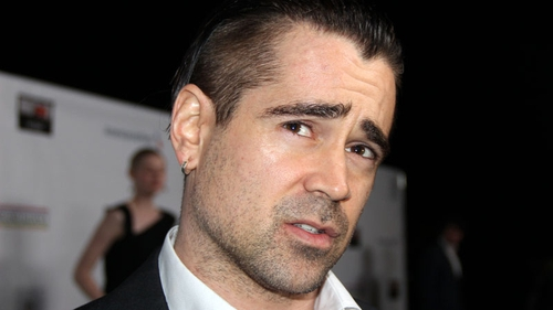 Colin Farrell was honoured at the eighth annual Oscar Wilde last night