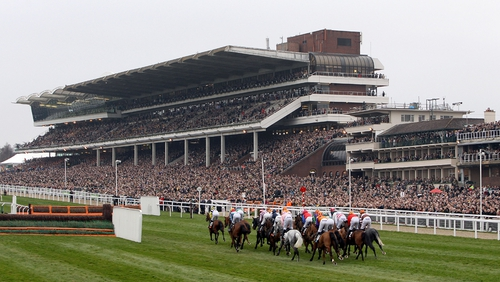 Cheltenham clerk of the course Simon Claisse is hoping that he will not have to water the course