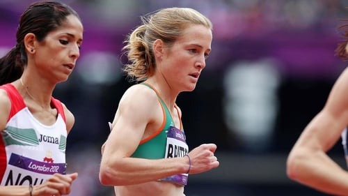 Fionnuala Britton finished second in the 5,000m