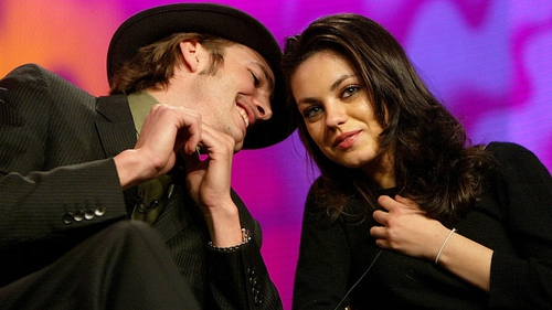 Mila Kunis has started living with Ashton Kutcher