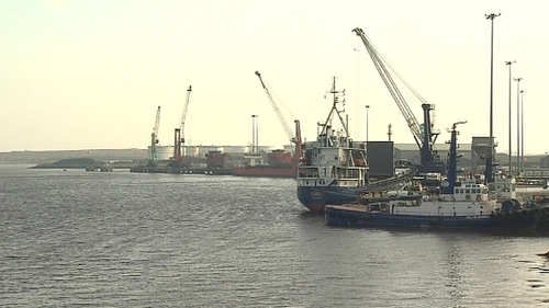 The Shannon Foynes Port Company handles 10 million tonnes of cargo, and is growing at around 8% a year