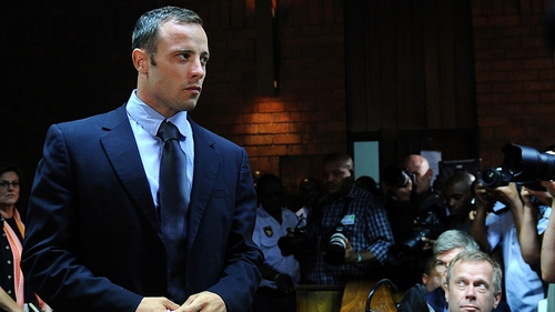 Mr Pistorius' family and supporters cheered when the magistrate delivered his ruling