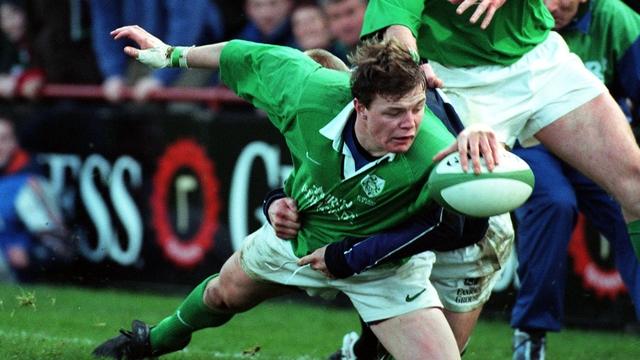 Brian O'Driscoll scores in trademark style