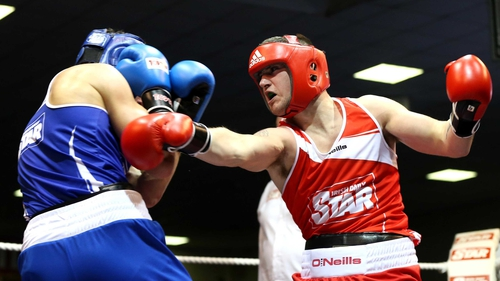 Ward from the town of Moate was again too good for the Dublin boxer