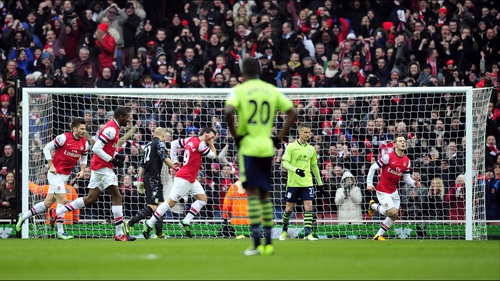 Arsenal recorded a much needed win against Aston Villa