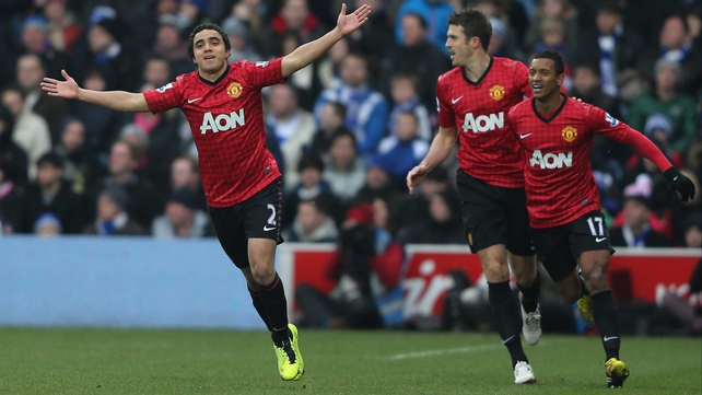 Rafael scored in the 23rd minute