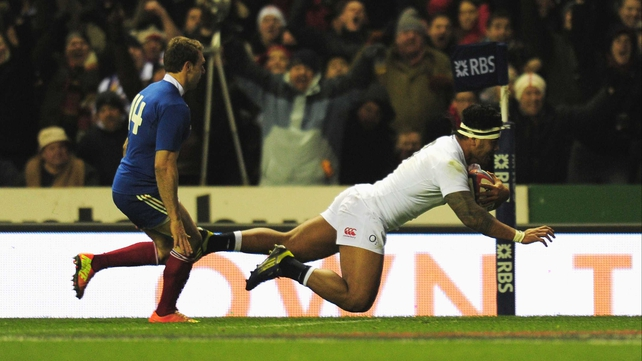 Manu Tuilagi's second-half try set England on the road to victory over France