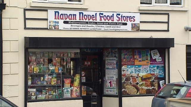 Shamseddin Gaidan's father runs this Halal grocery shop in Navan
