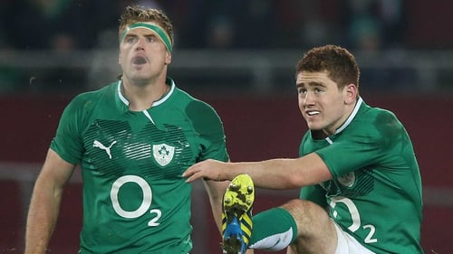Jamie Heaslip: 'There are 14 other guys on the pitch who are ready to die for you so go out and play'