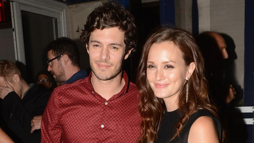 Adam Brody and new girlfriend Leighton Meester