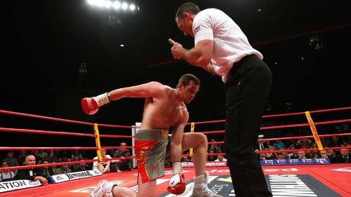 David Price was floored in the second round