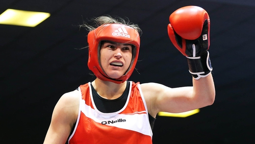 Reigning Olympic, World, European and EU champion Katie Taylor