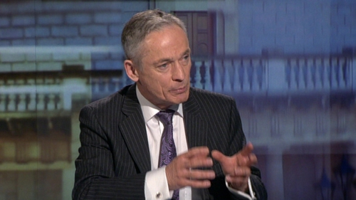 Richard Bruton said Ireland 'suffered a catastrophic impact'