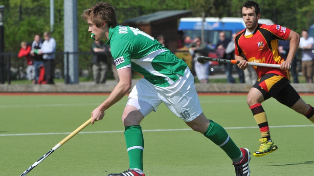 Shane O'Donoghue gave Ireland a shock lead in Belgium