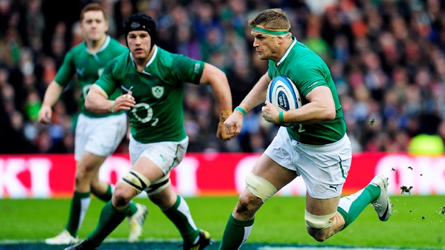 Ireland captain Jamie Heaslip has the full backing of Declan Kidney