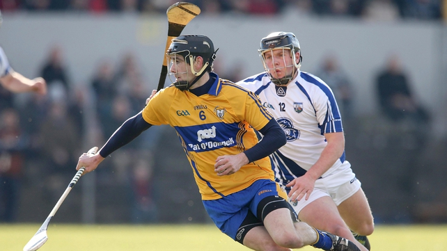 Pat Donnellan in action against Waterford
