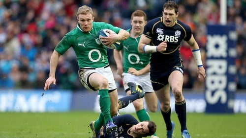 Keith Earls will miss the tour to Argentina