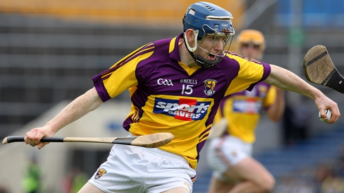 Rory Jacob was among the goalscorers for a Wexford side who were made to work hard for victory