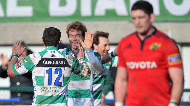 Treviso secured a bonus-point win