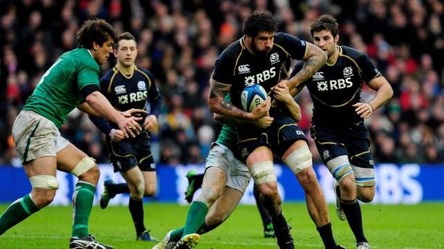 Scotland could finish second with a big win against France