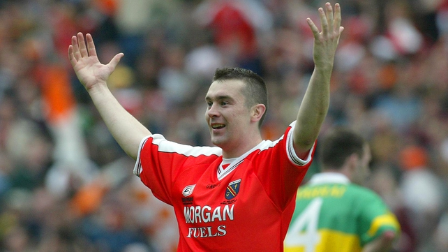 Former star Oisín McConville won an All-Ireland medal with Armagh in 2002