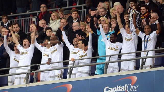 Swansea - 2013 Capital One Cup champions