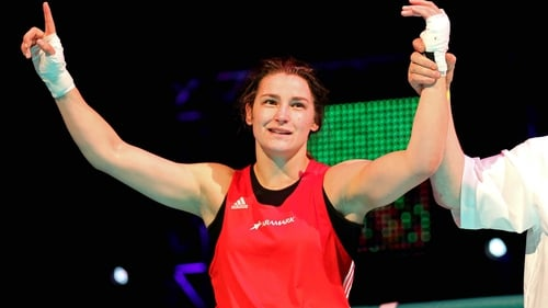 Katie Taylor is into the last four at the EU Championships
