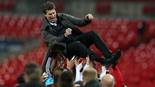 Michael Laudrup led Swansea to the  Capital One Cup this season