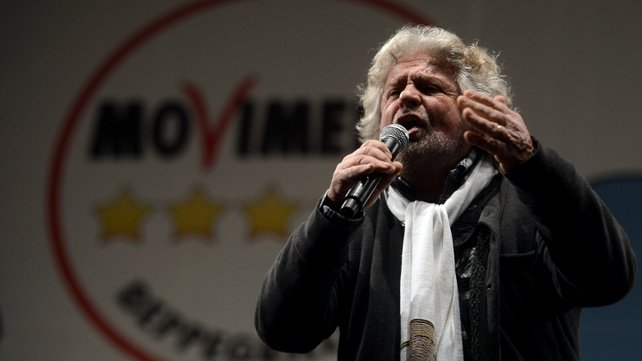 Comic Beppe Grillo's anti-establishment 5-Star Movement party is strongest in the country