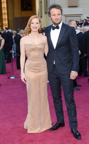 Jessica Chastain and Jason Clarke
