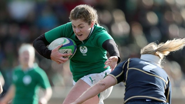 Fiona Coghlan will lead out the Irish women against Italy