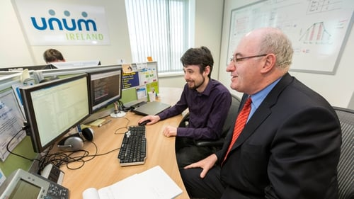 Minister Phil Hogan said unum is now one of Carlow's premier employers