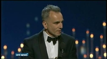 Daniel Day-Lewis makes history with third Oscar win