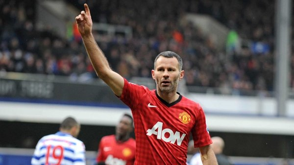 Giggs was recently on the score sheet for United in the league game against QPR