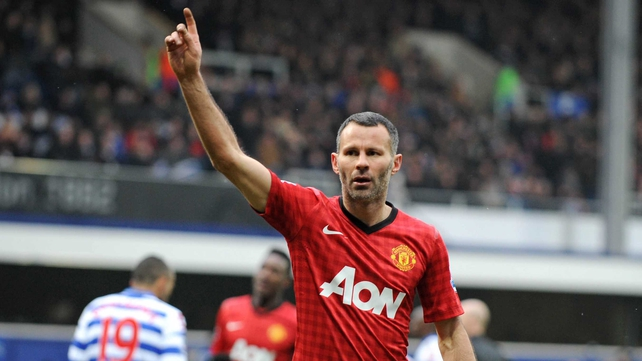 Ryan Giggs will make his 1000th appearance when next lining out for Manchester United