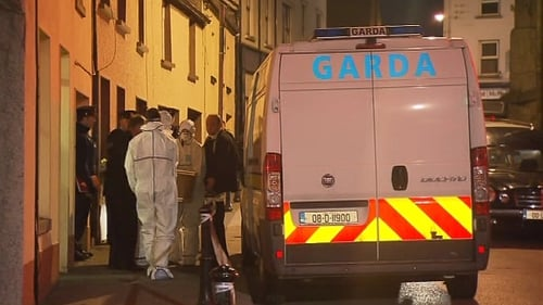 A shotgun was found in the house on Centaur Street in Carlow town