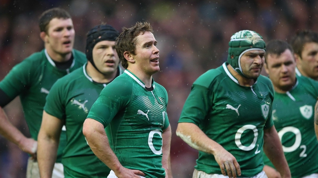 Ireland players can't hide their dejection