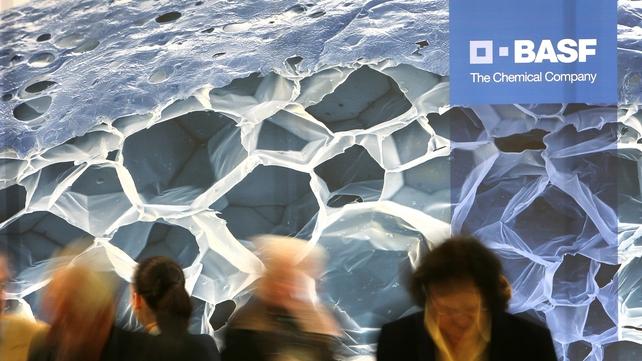 BASF net profits down 21% in 2012