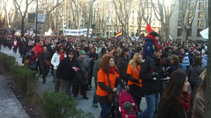 Spanish take to the streets to protest at austerity measures