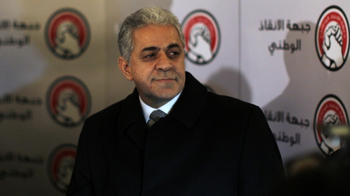 Hamdeen Sabahi came in a close third in Egypt's first free presidential elections
